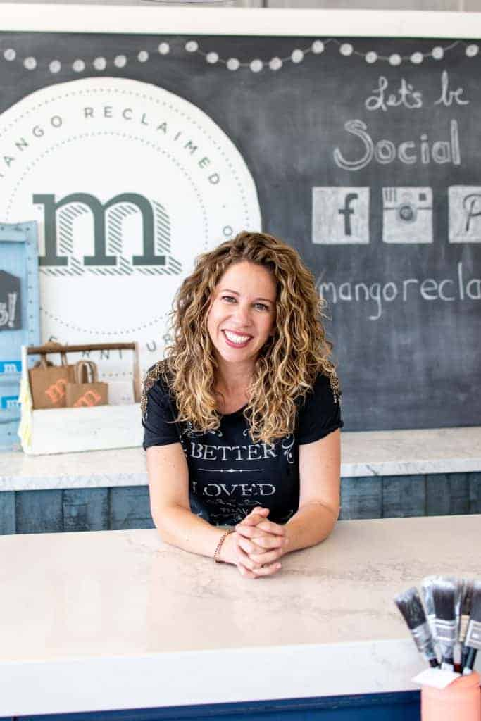 Melanie Curley owner of Mango Reclaimed invites you to become a retailer of Mango Paint