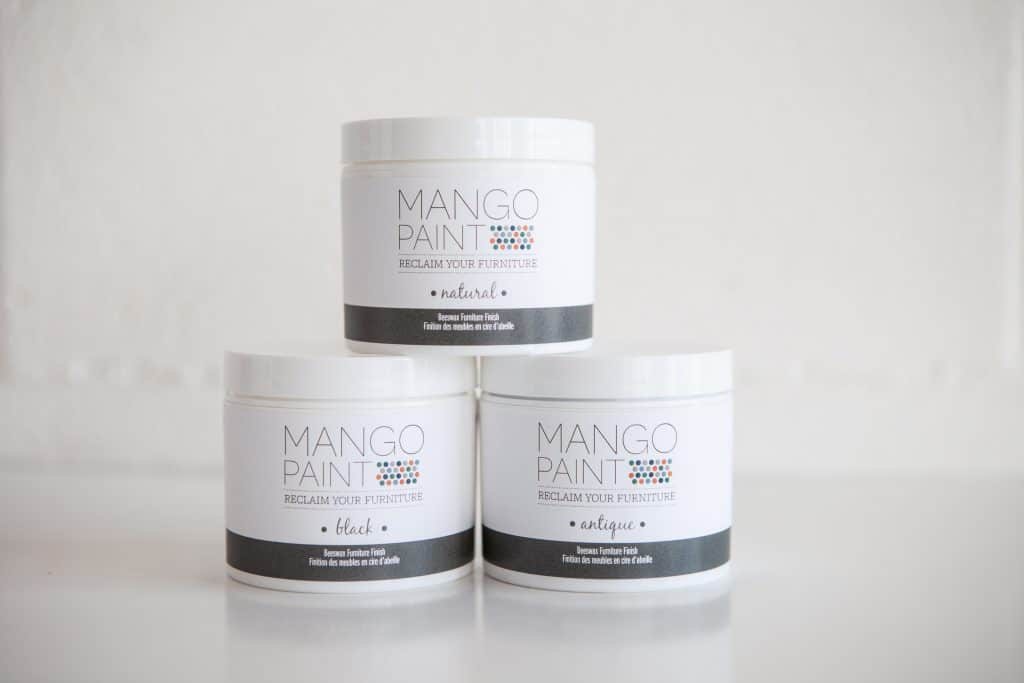 Mango Paint beeswax furniture finish is soft and easy to apply