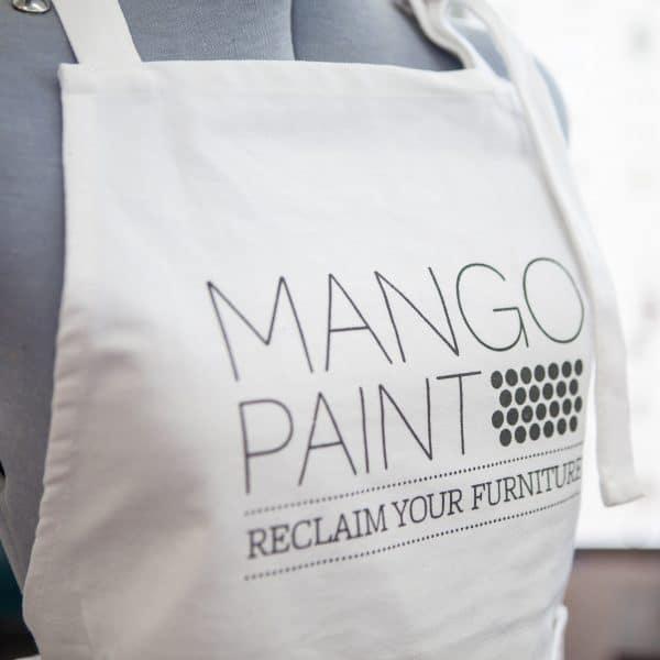 Mango Paint branded painters apron