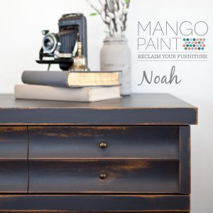 Mango painted in Noah and distressed dresser drawer