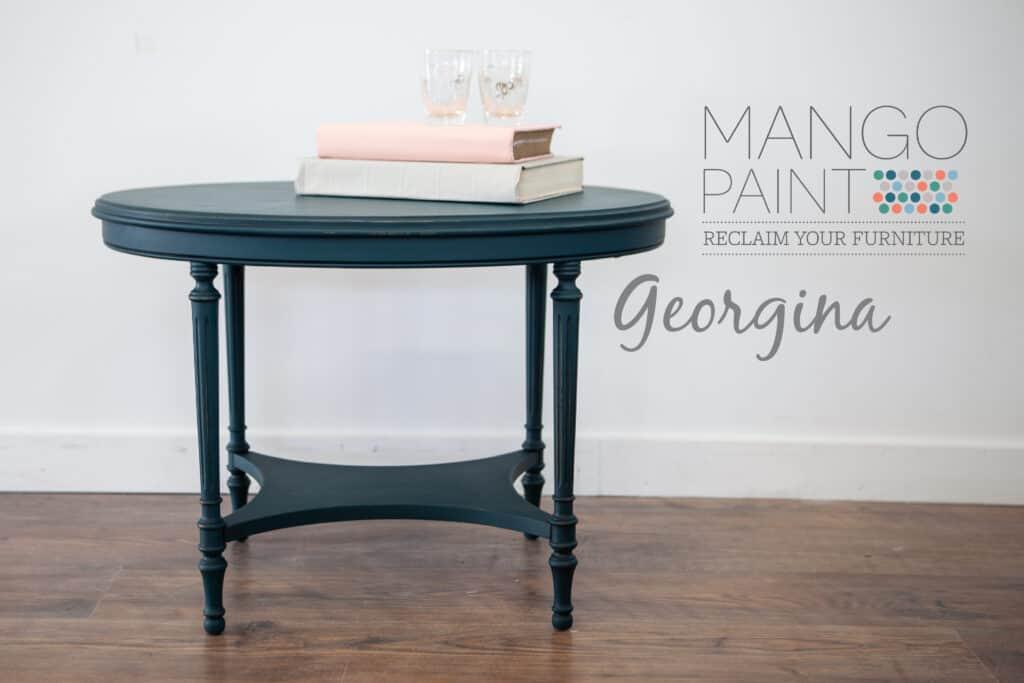 Georgina Oval Side Table