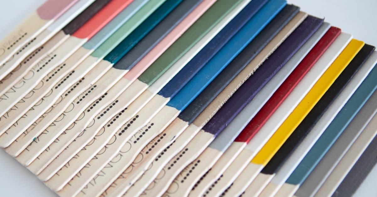 Mango Paint painted paint paddles full colour collection