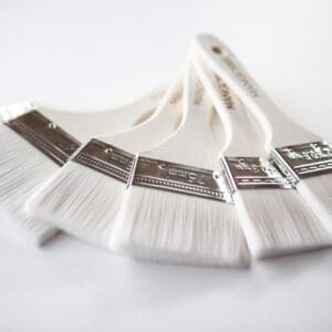 Super smooth paint brushes to apply Mango Paint