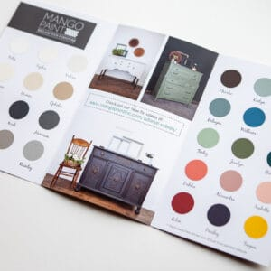 True Colour Paint Swatch Brochure